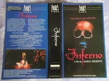 PRE CERT INFERNO, **V2000 PAL**  DPP72 VIDEO NASTY, VERY RARE ON THIS FORMAT!
