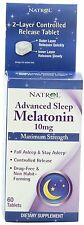 Natrol Melatonin 10mg Tablet Tr 60ct