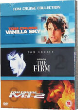 VANILLA SKY, THE FIRM, MISSION IMPOSSIBLE 2 (VERY GOOD CONDITION 3 DVD REGION 2)