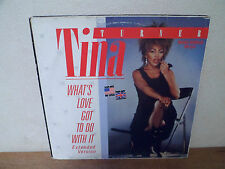 "LP 12"" MAXI - TINA TURNER - What's love got to do with it - VG+/EX"