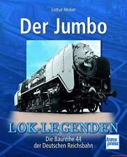Fachbuch Der Jumbo, Baureihe 44 der DR, vom Prototyp zur Serienfertigung, TOLL