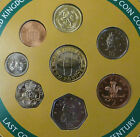 1999 Uncirculated UK Year set BU 8-coin Royal Mint sealed pack with rare £1 coin
