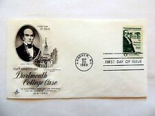 "Sept. 22nd, 1969 150th Anniversary Of ""Dartmouth College Case"" First Day Issue"