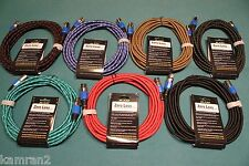 7 KAM Zero Loss ™ XLR microphone cables, drum mic kit