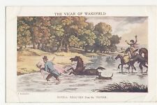 The Vicar Of Wakefield, Sophia Rescued, T. Rowlandson Postcard, A736
