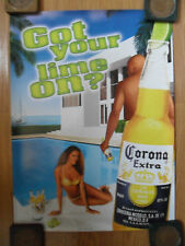 Sexy Girl Beer Poster Corona Got Your Lime