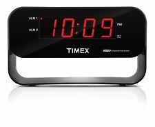 TIMEX T128B Decorative Xbbu Dual Alarm Clock With Usb Charging Night light