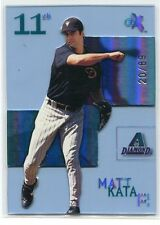 2003 E-X Essential Credentials Now 89 Matt Kata Rookie 20/89