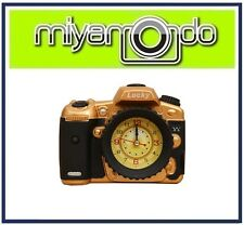 Creative Dslr Camera Design Alarm Clock (Gold)