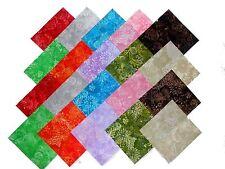 """20 10"""" Quilting Fabric Layer Cake Squares Batik Tonal Prints NEW ITEM #2"""