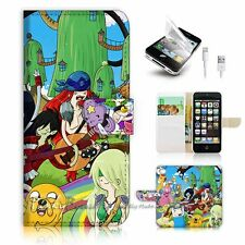 iPhone 5C Flip Wallet Case Cover! P1000 Adventure Time