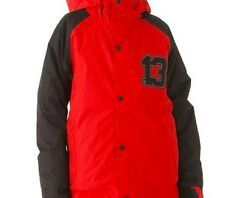 Burton Boys Repel Snowboard Jacket (M) Burn / True Black