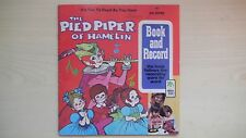 Peter Pan Book & Record THE PIED PIPER OF HAMELIN 45rpm 1971