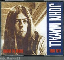 JOHN MAYALL//COFFRET 2 CDS**ROOM TO MOVE//COMPILATION//CD.RARE//1969/74/(1992)