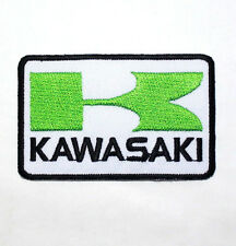 KAWASAKI Ninja motorcycles Racing Super Bike Jacket Cap Applique IRON ON PATCH