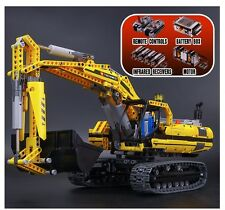 Technic 8043 - Motorized Excavator - 1123pcs - Fits Lego Compatible