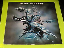 33 TOURS LP - METAL WARRIORS - SORTILEGE - VORTES - OMEGA...1983 6 HEAVY METAL