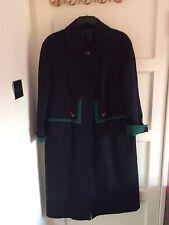 """Onorevoli sorprendente ALPINE """"Loden"""" Navy Cappotto si adatta fino a taglia 18"""