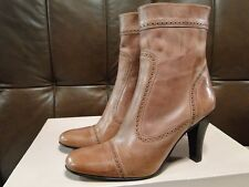 DESIGNER HAND FINISHED - GABRIELA CASTRO WOMENS MID CALF BOOTS 3100 UK SIZE 7