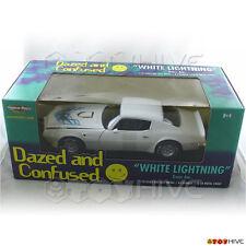 Dazed and Confused 1973 White Lightning Pontiac Trans Am 1:18 diecast ERTL model