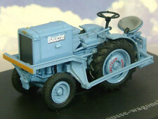 "GREAT U/H HACHETTE DIECAST 1/43 1957 BAUCHE ""POUSSE WAGONS"" TRACTOR IN BLUE TR51"