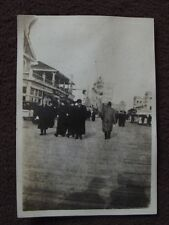 ATLANTIC CITY BOARDWALK Vintage 1915 PHOTO