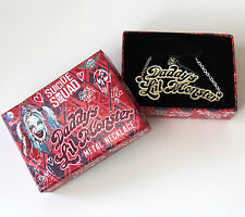 Suicide Squad Harley Quinn Daddy's 'Lil Monster Necklace - Little Monster QMX