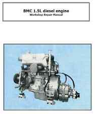 BMC 1.5 Diesel Workshop manual on CD Boat engine repair manual