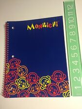 Rare Sanrio 2008 Monkichi Monkey Hello Kitty Friend Spiral Journal Full Size New