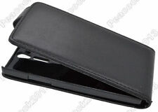 HOUSSE ETUI COQUE CUIR LUXE A RABAT SONY ERICSSON XPERIA S