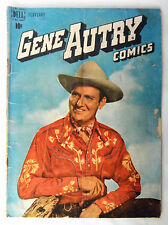 Gene Autry #24 Dell Comic 1949  Photo Cover Golden Age Marshal Trigger