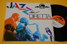 MANUSARDI SELLANI PALUMBO...LP ITALY JAZZ IN DIRETTA EX ! AUDIOFILI GATEFOLD