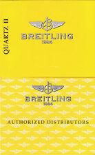 BREITLING QUARTZ 2 ANLEITUNG INSTRUCTIONS I412