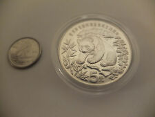 China 1986 Panda Silver 5 Yuan for World Wildlife Fund WWF - Beautiful Coin SALE