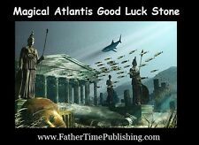 Magical Atlantis Good Luck Stone To Help Me Win Money Love Success & Lottery $$$