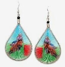 Barrel Racer Earrings Hand Made Threaded Earrings