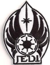 """Star Wars JEDI Logo B&W 3.75"""" Patch- FREE S&H (SWPA-FC-05)"""