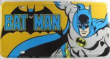 BATMAN LICENSE PLATE SUPER HERO COMIC SUPERHERO SIGN METAL NEW L468