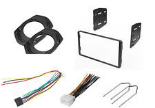 CAR STEREO DASH INSTALL KIT DOUBLE DIN WIRE HARNESS REMOVAL KEYS KENWOOD FORD