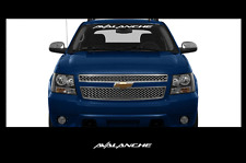 "AVALANCHE Front Windshield Window Decal Sticker Chevy chevrolet 40""x4"""