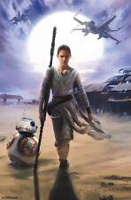 Star Wars - Rey Poster Print, 22x34