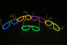 Set of 5 Assorted Glow Stick Glasses