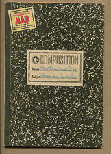 MAD #20 - Composition Notebook Cover - 1955 (Grade 5.5/6.0) WH