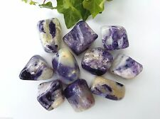 Rare Morado Opal Crystal Tumblestones - The Violet Flame - 20-30mm