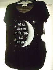 Moon Child Knit Top Large NWT We all shine on