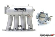 SKUNK2 Intake Manifold Pro Silver+Throttle Body Alpha 70mm H22A1/H22A4