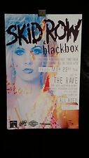 Skid Row, Blackbox 5/23/08 Milwaukee Concert Tour Poster Signed By Artist, Rave