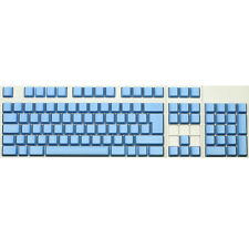 Max Keyboard ISO 105-key Cherry MX Replacement Keycap Set 6.0x (Blue / Blank)