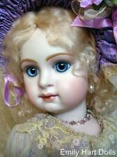 Jumeau Paris Bebe porcelain doll HEAD ONLY by Emily Hart Grandmaster
