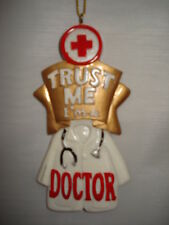 Doctor Ornament Trust Me Im A Doctor A1068C 45
